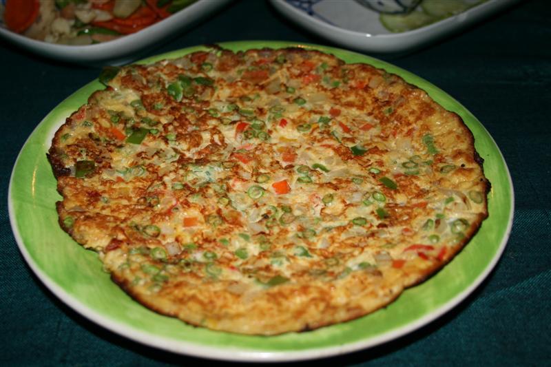 Thai Pork Omelette