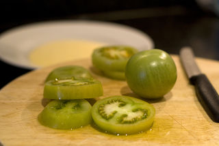 Raw Green Tomatoes