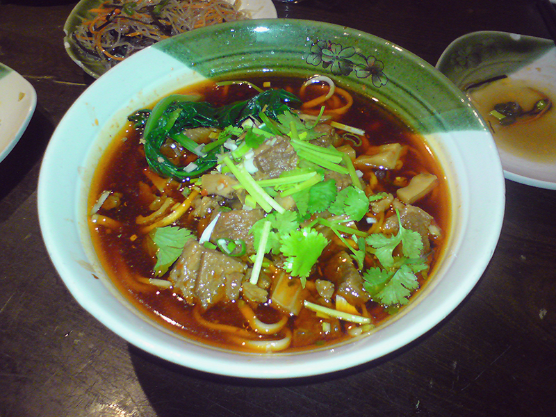 Sichuanese Beef Noodles
