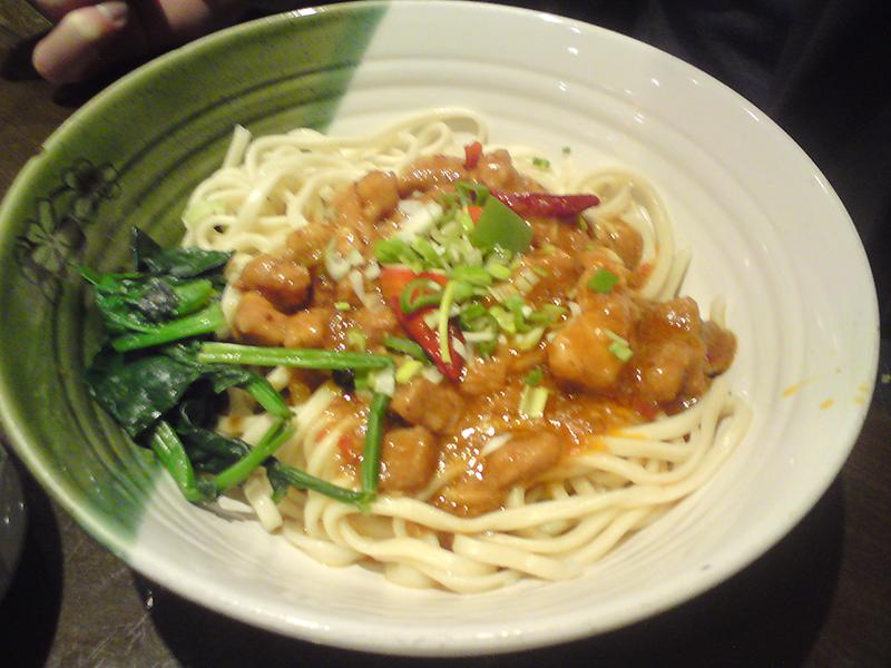 Sichuan Fragrant and Hot Pork Noodle