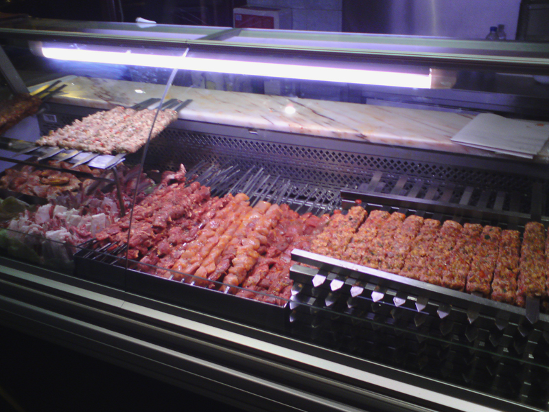 A fine selection of kebabs