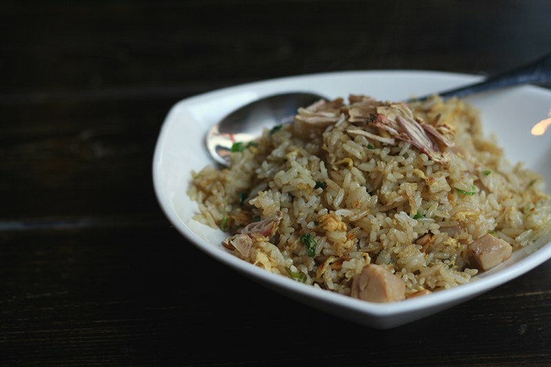 Chicken Fried Rice with Pinenuts
