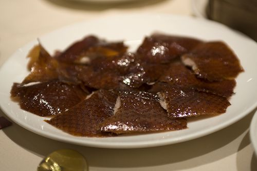 Carved Duck Skin