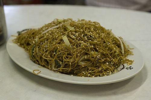 Noodles in Black Sauce