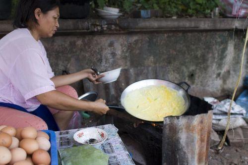 Omelette Stall