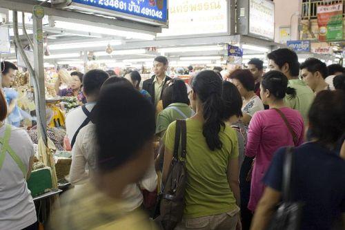 Chiang Mai Sausage Scrum