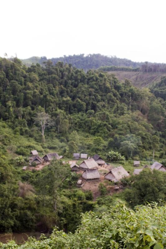 Nam La Village, home to the Lanten People