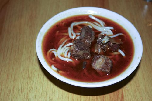 Unknown Beef Noodle