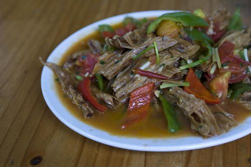 Chao Long Beancurd Skin with Peppers