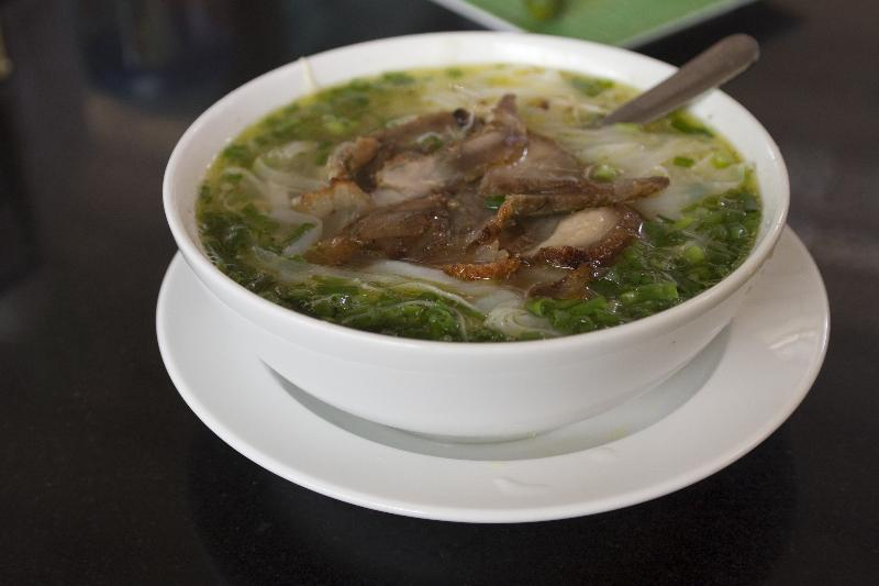 Pork Pho - First Meal in Vietnam