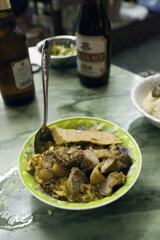 With Pork Paste and Braised Pork