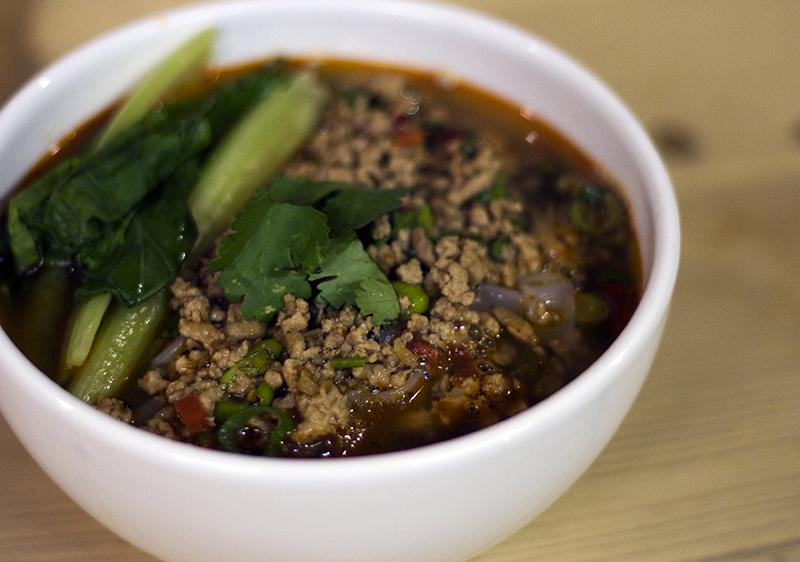 Pork and Chile Bean Noodle Soup