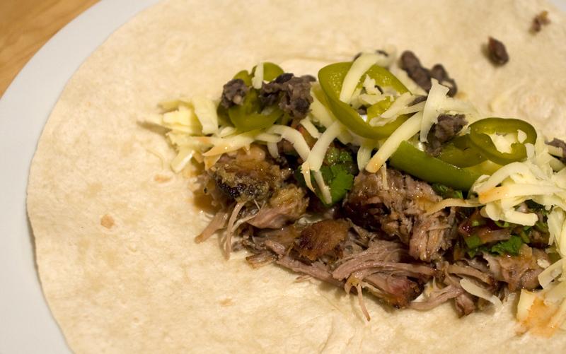 Carnitas Burrito Filling