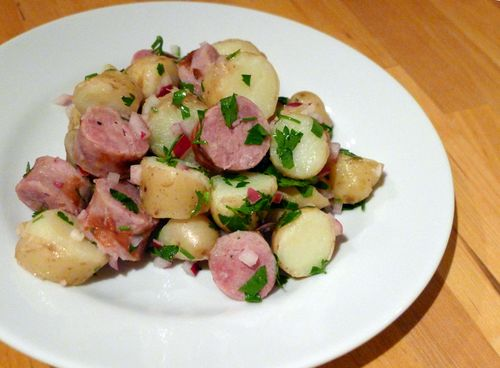 Toulouse Sausage and Potato Salad