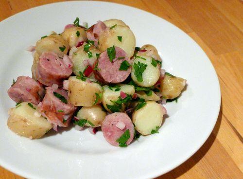 Toulouse Sausage and Potato Salad