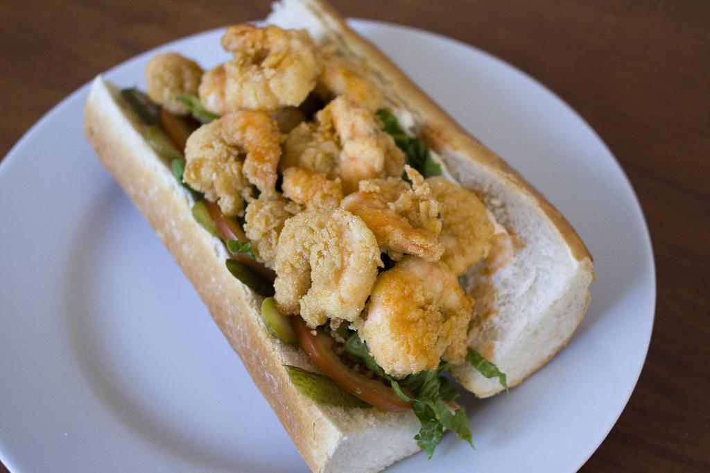 The Shrimp Po' Boy