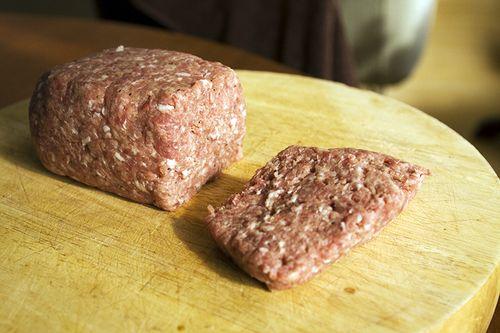 Raw Lorne Sausage