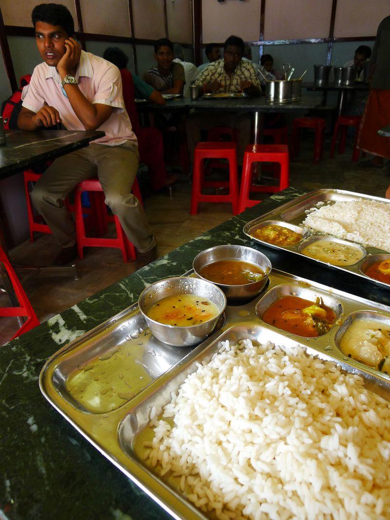 A final Kerala meal
