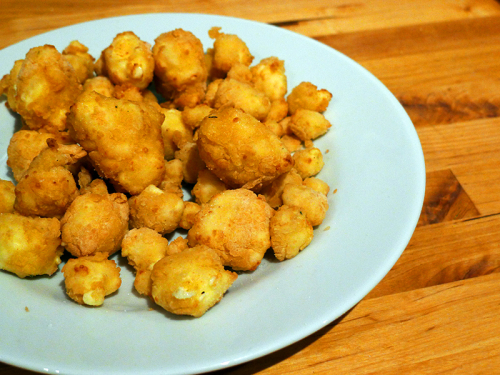 Wisconsin Fried Cheese Curds