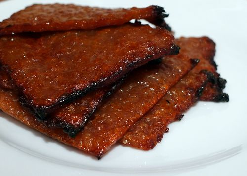 Bak Kwa - Chinese Barbecued Pork