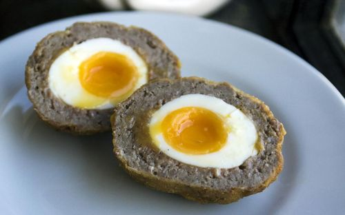 Scottish Scotch Eggs Linear