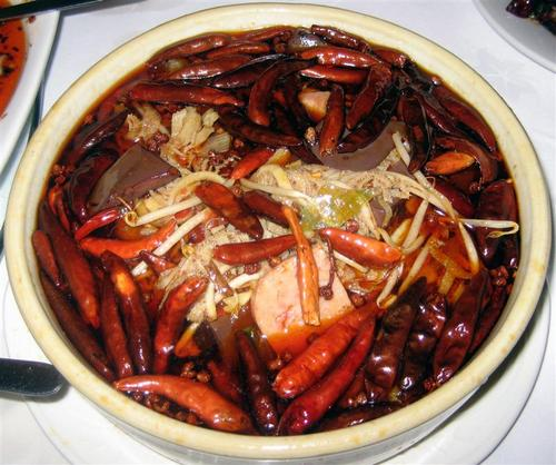 Special Cooked Pig Blood Casserole